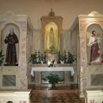 Altare con Madonna di Fatima